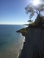 Scarborough bluffs – photographer: s.simpson for Paintitmermaid.com. all rights reserved.