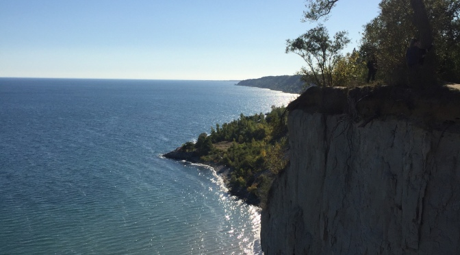 A Mermaid's view – Scarborough bluffs!
