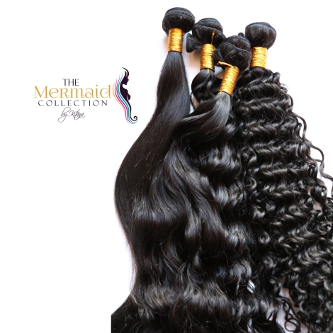 The world's most luxurious 100% virgin unprocessed human hair extensions is now available at www.themermaidcollection.ca
